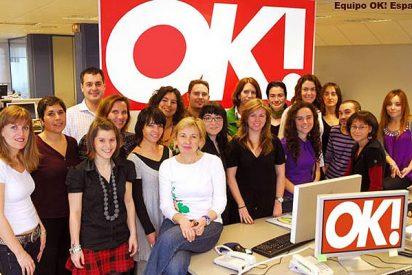 Northern & Shell cierra de manera fulminante la edición española de OK!