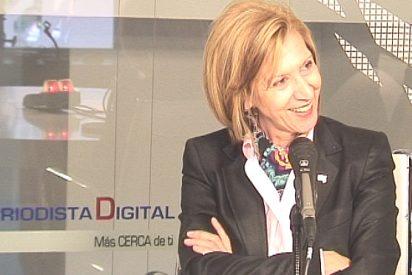 """Rosa Díez: """"La alternativa es cambiar de política, no sólo de lehendakari"""""""