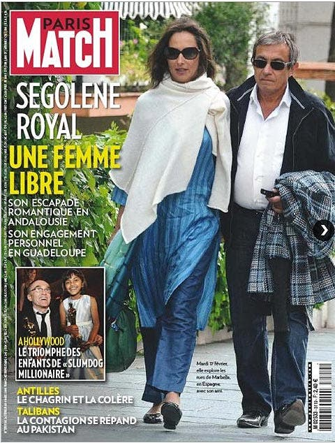La revista Paris-Match, condenada a indemnizar a Ségolène Royal