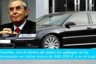 Núñez Feijóo pone en venta el Audi de Touriño