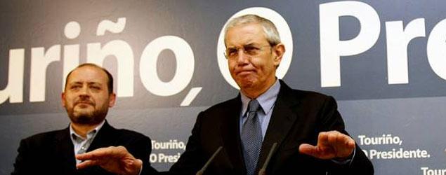 Touriño se rinde tras el batacazo electoral
