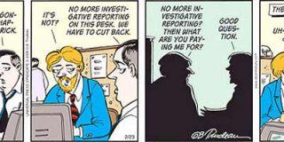 El Post se disculpa por no publicar una tira cómica sobre despidos