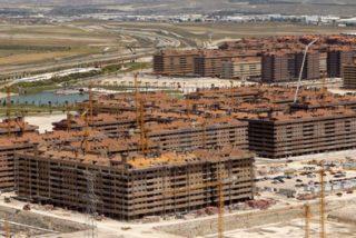 La construcción de vivienda libre se desplomó un 49,4% en 2008