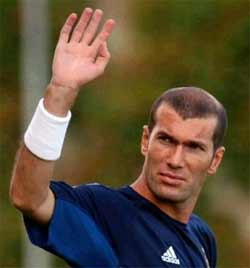 Zidane no descarta volver al Madrid con Florentino