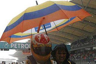 El diluvio suspende la carrera en Sepang que termina con Button como vencedor