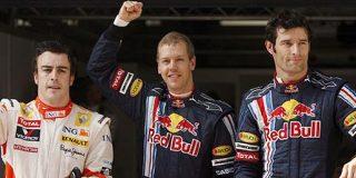 Salto espectacular de Alonso en el Gran Premio de China