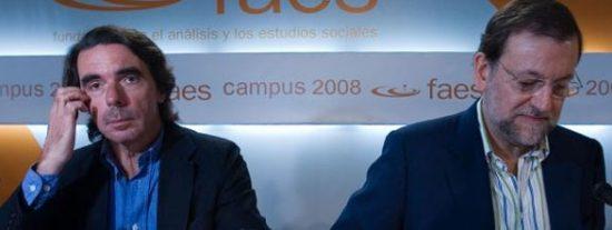 Rajoy hereda el 'cuaderno azul' de Aznar