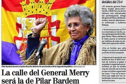 Carta de la hija del General Merry a los lectores del diario El Mundo