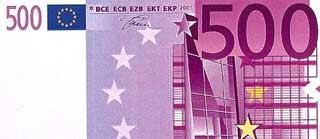 IU propone teñir los billetes de 500 para acabar con el dinero negro