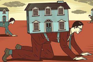 La venta de casas cae un 47,6% y marca un nuevo mínimo histórico