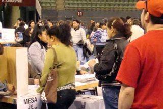 Miles de ecuatorianos votaron en España