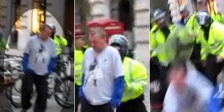 El fallecido por las protestas del G-20 fue agredido por la Policía