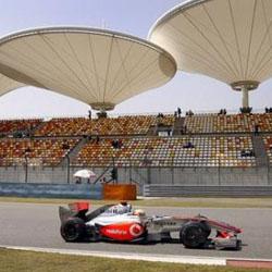 Lewis Hamilton, el más rápido en la primera sesión de entrenamientos del GP de China