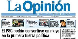 'La Opinión de Tenerife' presenta un ERE para la mitad de su plantilla