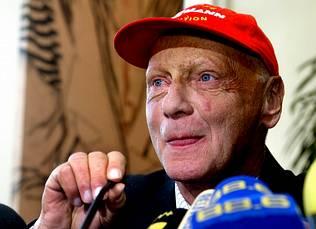 Niki Lauda será padre por cuarta vez a los 60 años