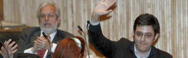 Eduardo Madina la pifia el primer día que sustituye a Jáuregui en el Congreso