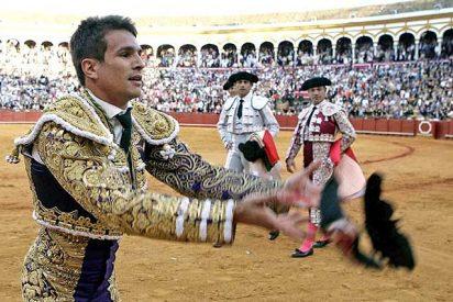 Dos orejas para un Manzanares inmenso y susto para el valiente Rivera Ordóñez
