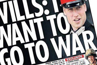 La familia real interviene para cambiar la portada de 'News of the World'