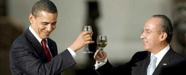 Y Obama deja el protocolo en casa para su visita oficial a México