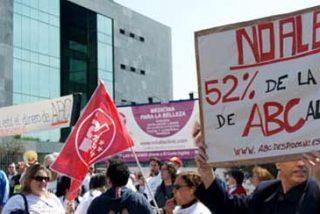 La cúpula de ABC no se deja intimidar por los huelguistas
