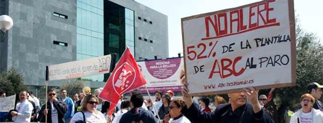 ABC congela el ERE para intentar llegar a un acuerdo con los trabajadores