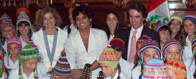 Pedro Suárz-Vértiz actuó en el Congreso de la República de Perú