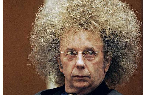 El legendario productor musical Phil Spector, culpable de asesinato