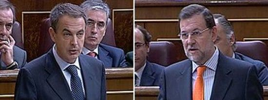 "Rajoy, a ZP: ""No he entendido nada, pero usted tampoco, no se ría"""