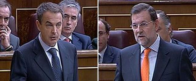 """Rajoy a ZP: """"Es lamentable pactar una reforma y a la media hora decir que no se va a hacer"""""""