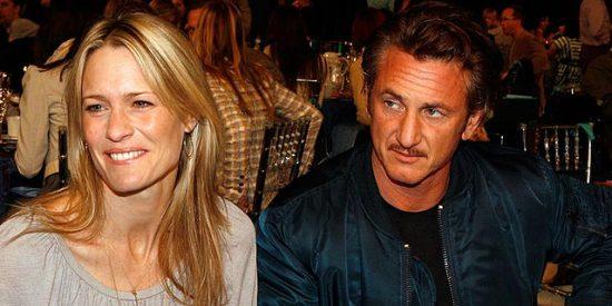 Sean Penn y Robin Wright se separan tras trece años de matrimonio