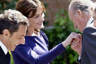 Sarkozy y Carla Bruni, recibidos con honores militares en El Pardo