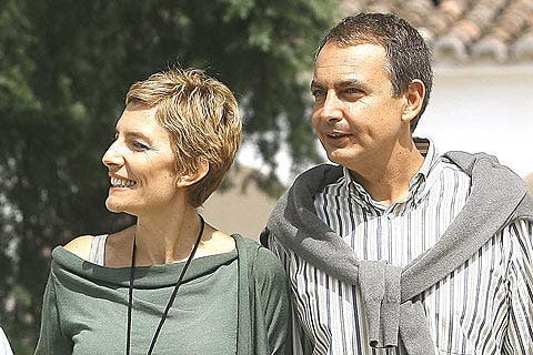 El presidente Zapatero sí que descansó y tomó vacaciones