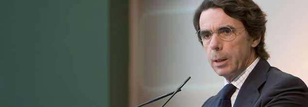 """Aznar: """"España, de la mano del socialismo, vuelve a liderar la Champions League, pero la del paro"""""""