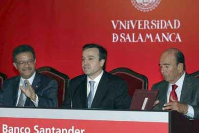 Botín defiende un futuro común para las universidades de España e Iberoamérica