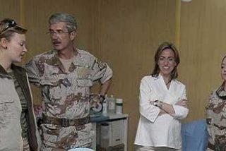 Chacón confirma contagios de gripe A entre los militares