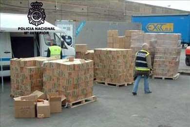 Desarticulada una banda que introducía cocaína oculta en sobres de sopa desde Colombia