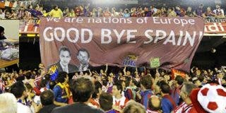 España no se rompe... se agrieta