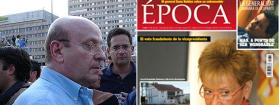 """De la Vega pretende """"empapelar"""" a los periodistas Carlos Dávila y Maite Alfageme"""