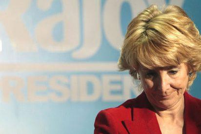 Esperanza Aguirre se autoaplica la austeridad