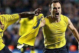 Iniesta hizo el milagro en el 92 y el Barça está en la final de la Liga de Campeones