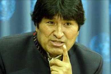 """Morales dice que las relaciones diplomáticas con Perú están en """"alto riesgo"""""""