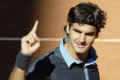 Federer tumba a Nadal y deja de llorar este año