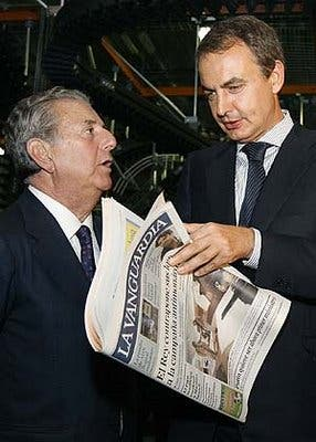 Godó aprovecha la crisis para vaciar La Vanguardia con un ERE