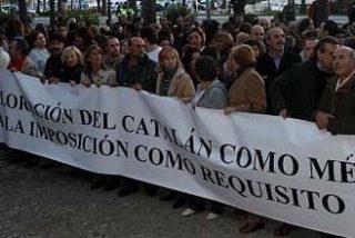 Baleares se echa a la calle contra la imposición del catalán