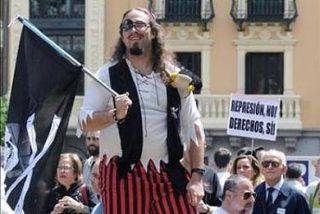 Los internautas toman Madrid, protestan contra el canon y exigen banda ancha