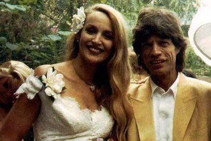 Una editorial exige pastón a la ex de Jagger porque ahora no quiere contar sus secretos