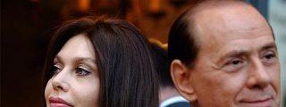 Berlusconi quiere retrasar su divorcio hasta después de los comicios europeos