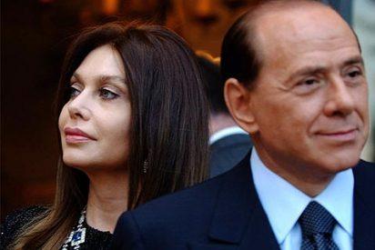 La mujer de Berlusconi inicia los trámites para divorciarse de su marido