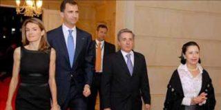 Los Príncipes de Asturias llegan a Bogotá en visita oficial