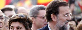 María San Gil y Mariano Rajoy, cara a cara